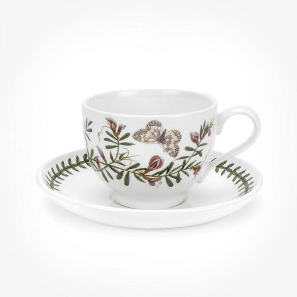 Portmeirion Botanic Garden Teacup/Saucer (T) New Common Vetch