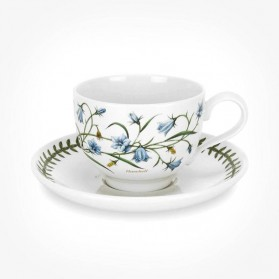 Portmeirion Botanic Garden Teacup/Saucer (T) New Harebell