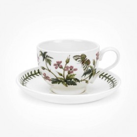 Portmeirion Botanic Garden Teacup/Saucer (T) New Robert