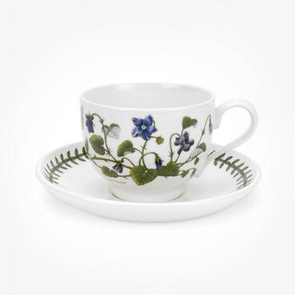 Portmeirion Botanic Garden Teacup/Saucer (T) New Sweet Violet