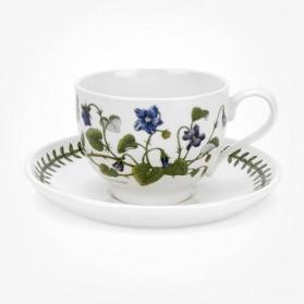Portmeirion Botanic Garden Breakfast Cup & Saucer (T) Sweet Violet