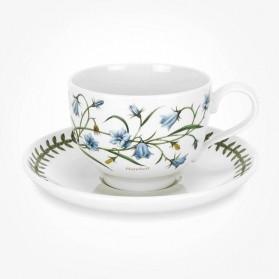 Portmeirion Botanic Garden Breakfast Cup & Saucer (T) Harebell