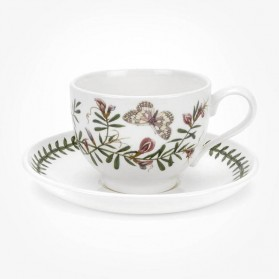 Portmeirion Botanic Garden Breakfast Cup & Saucer (T) Common Vetch
