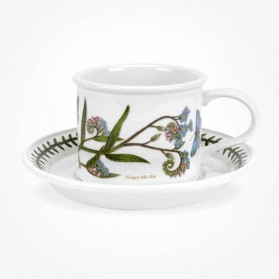Portmeirion Botanic Garden Breakfast Cup & Saucer (D) Forget me Not