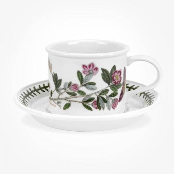 Portmeirion Botanic Garden Breakfast Cup & Saucer (D) Rhododendron