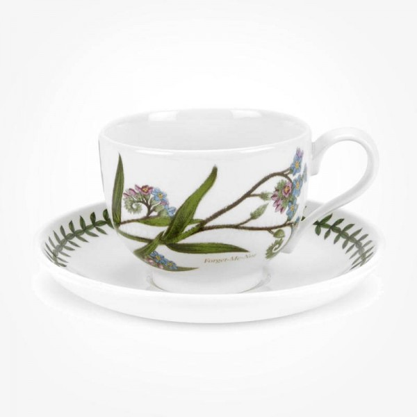 Portmeirion Botanic Garden Breakfast Cup & Saucer (T) Forget Me Not