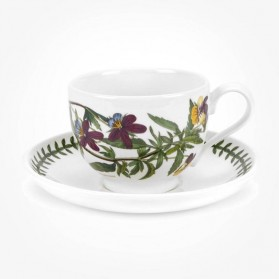 Portmeirion Botanic Garden Breakfast Cup & Saucer (T) Heartsease
