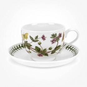 Portmeirion Botanic Garden Breakfast Cup & Saucer (T) Pimpernel
