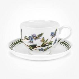 Portmeirion Botanic Garden Breakfast Cup & Saucer (T) Speedwell