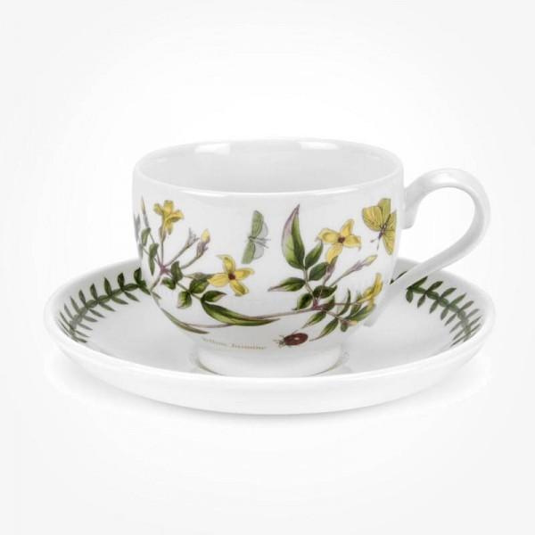 Portmeirion Botanic Garden Breakfast Cup & Saucer (T) Yellow Jasmine