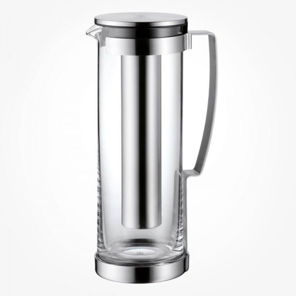 WMF Kult Glass Jug with Lid & Cooling tube 1.8L