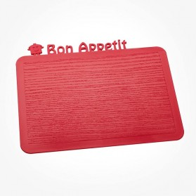Happy Boards Breakfast Board Bon Appetit raspberry red