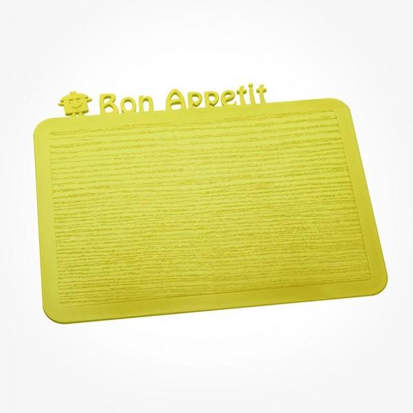 HAPPY BOARDS DELICIOUS Breakfast Board Bon Appetit solid mustard green