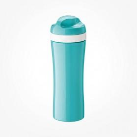Koziol OASE Water Bottle 425ml OASE turquoise with white