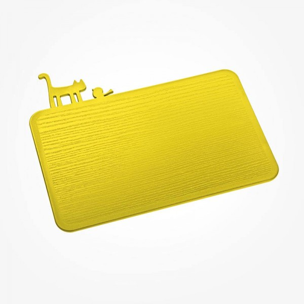 Koziol PIP Chopping Board solid Mustard green