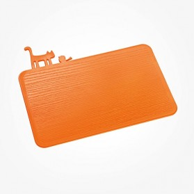 Koziol PIP Chopping Board solid orange