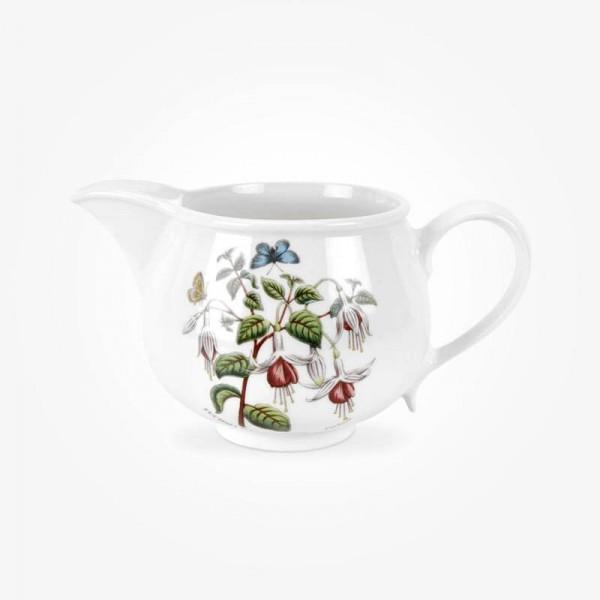 Botanic Garden Milk Jug 1pt Romantic Shape Fuchsia
