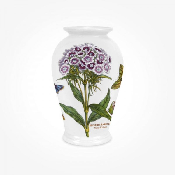 Botanic Garden Canton Vase 7 inch Sweet William