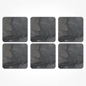 Pimpernel Midnight Slate Coasters set of 6