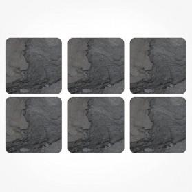 Pimpernel Midnight Slate Coasters set of 6