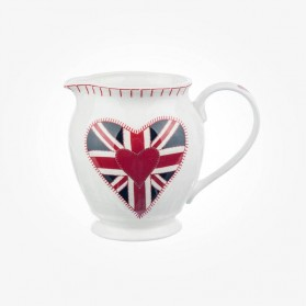 Small Creamer Jug Union Jack