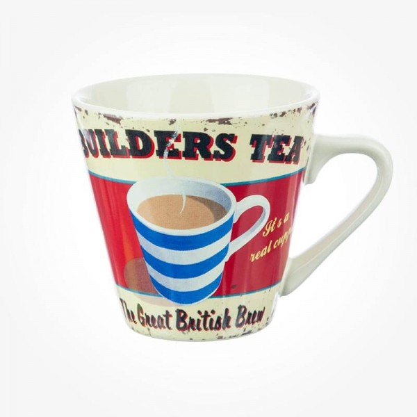 Builders Tea Mug Cafe Culture 250mL
