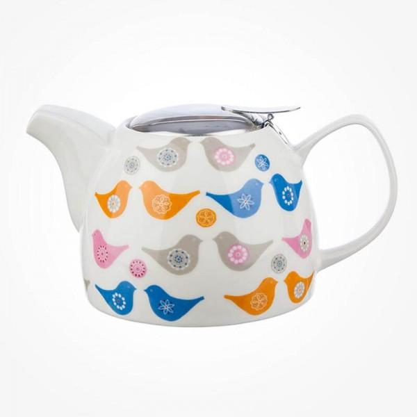 Love Birds Teapot With Strainer 750ml