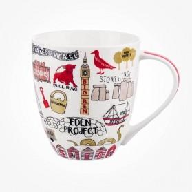 James Sadler Sights of Britain Crush Mug