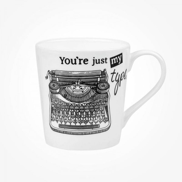 About Time Chestnut Mug Typewriter