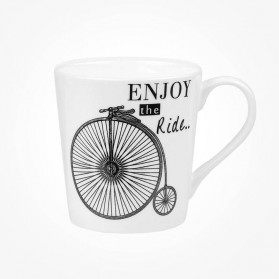 About Time Chestnut Mug Penny Farthing