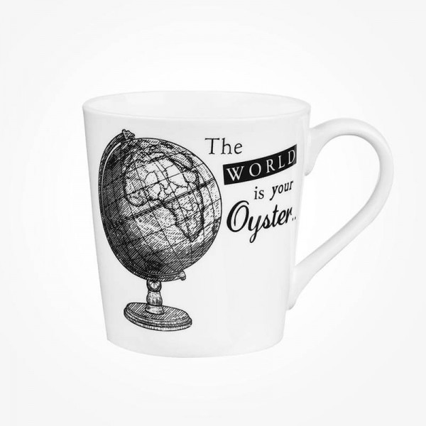 About Time Chestnut Mug Globe