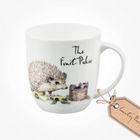 Country Pursuits Olive Mug Fruit Picker
