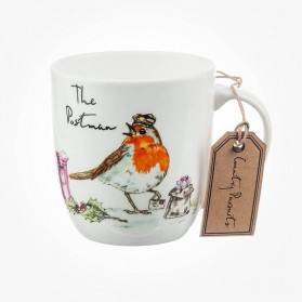 Country Pursuits Olive Mug The Postman