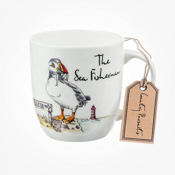 Country Pursuits Olive Mug The Sea Fisherman