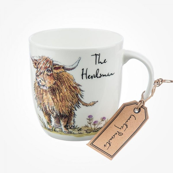 Country Pursuits Olive Mug The Herdsman