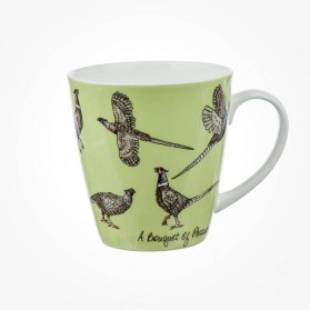 The In Crowd Cherry Mug A Bouquet of Pheasants