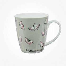 The In Crowd Cherry Mug A Flutter of Butterflies