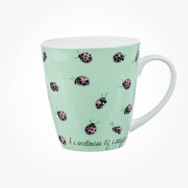 The In Crowd Cherry Mug A Loveliness of Ladybirds