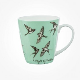 The In Crowd Cherry Mug A Flight of Swallows