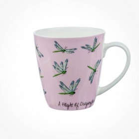 The In Crowd Cherry Mug A flight of Dragonflies