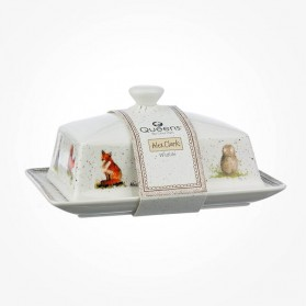 Alex Clark Wildlife Butter Dish with Lid