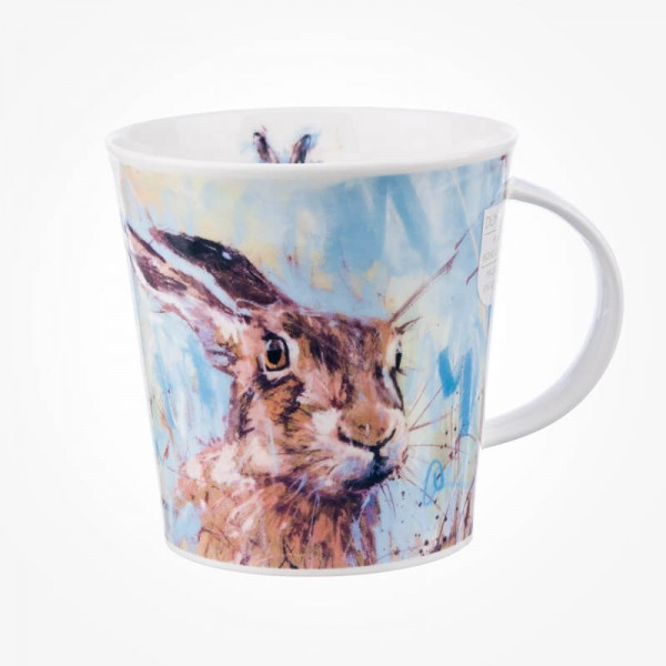 Dunoon Mugs Cairngorm Animals on Canvas Hare