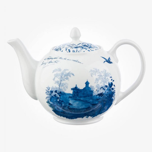 Aynsley Archive Blue Teapot
