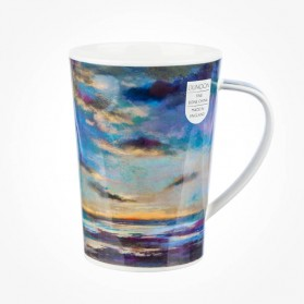 Dunoon Argyll Mugs Drift On By Dark Blue