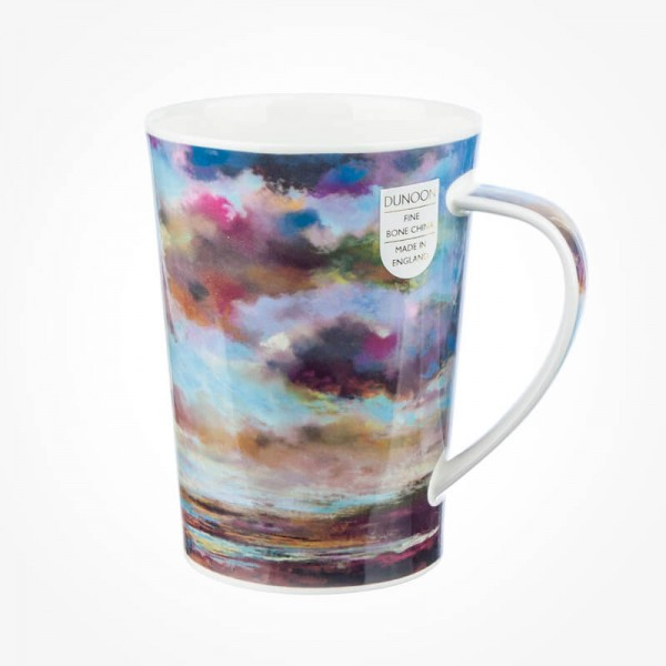 Dunoon Argyll Mugs Drift On By Light Blue