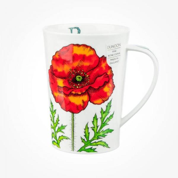 Dunoon mugs Argyll Poppy