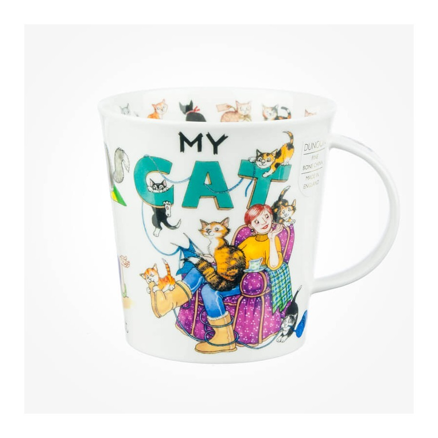 sc 1 st  Chloris Tableware & Dunoon Cairngorm Mug My Cat