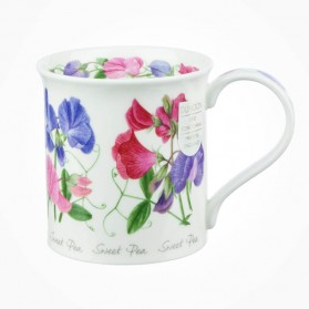 Dunoon Mugs Bute Summer Flowers Sweet Pea