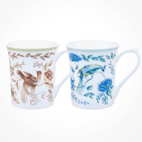 Queens Classic Royal Peacock Assorted Mugs