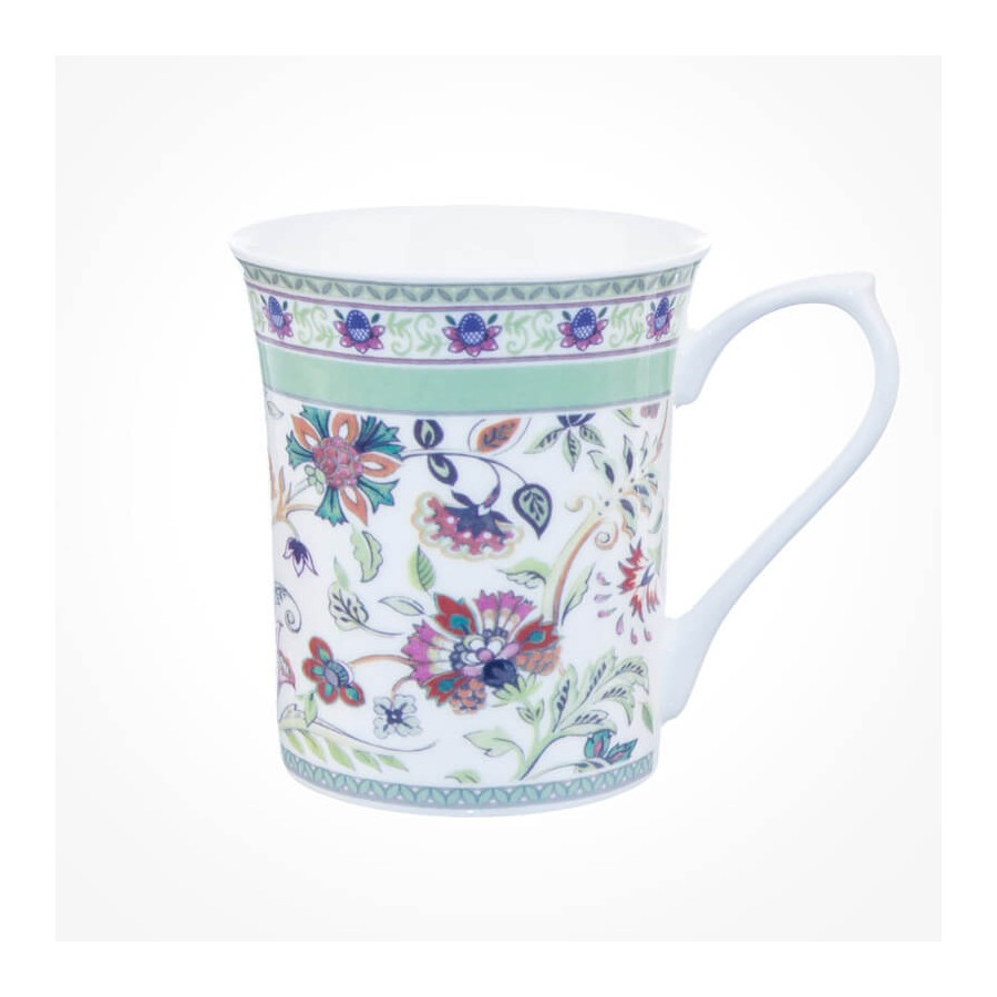 Queens Classic Royal Antique Floral Mugs